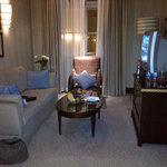 Suite living area.