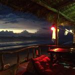 beach bar view