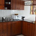 unsere perfekt eingerichtete Küche