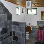 The bathroom at Sanctuary Lodge
