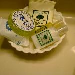 Nice selection of soaps
