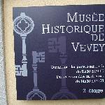 Tafel des historischen Museums