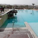 une des piscine du Radisson