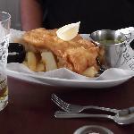 'Brilliant Fish & Chips'