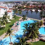 Marina pool.