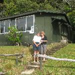 me and Anne at the whare