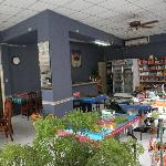 Warung Sate Muslim dining area