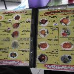Warung Sate Muslim menu
