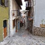 A typical street in Dimitsana