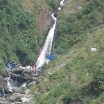 Zoom pic of Bhagsu Nag Waterfall