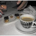 Koffie met huisgemaakte friandises