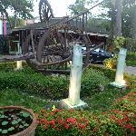 Golden Beach Resort entrance
