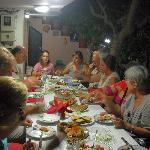 Hospitality of Melina's family