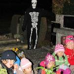 Children Cemetery Tour with Skeleton ghost