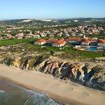 Aerial view Praia d'El Rey Marriott