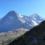 Trail to Kleine Sheidegg