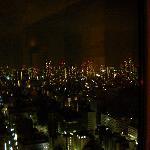 部屋から眺める夜景