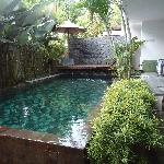 private pool @ villa sesapi