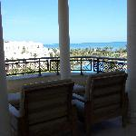 La belle terrasse avec jolie vue