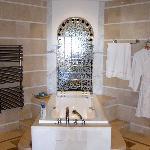 La salle de bains, parfaite