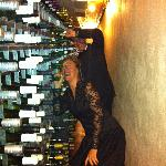 Fab wine cellar