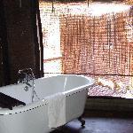 vasca tenda 4 e doccia oltre la zanzariera