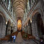 Inside Bayeux Cathedral