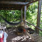 The one redeeming quality is the deck and those hammocks.