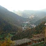 vista sulla valle