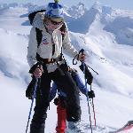Ski-Touring at the Durrand Glacier Chalet