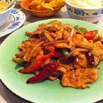 Thai meal ( cashew chicken )