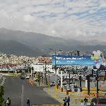 Views of Quito, Ecuador from the airport