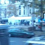 Nearby 'occupy' camp - at least nobody missed work to be here