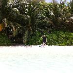 Our virtually private beach
