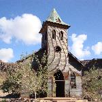 Church front at the Desert Bar