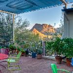 Morning desert scene from the back patio.
