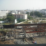 Construction still on going - noisy