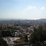 Barcelona Overlook from Turo de Reviro