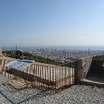 Barcelona toward Torre Agbar