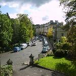View from window up Henrietta Street