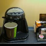 a two cup Wolfgang Puck coffe maker