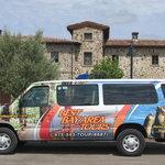 Tour van at winery