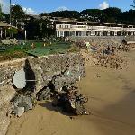 2011年のビーチの様子。