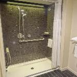 Our massive shower