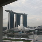 View of Marina Bay Sands from our room