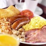Enjoy a full English Breakfast