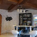 renovated bar area