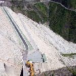 (Bonus pic) Tehri Dam top view