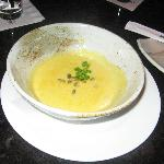 Kabocha coconut soup
