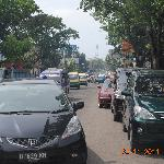main street of jelita hotel